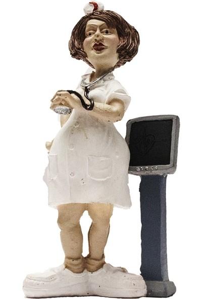El Boyaması Hemşire Biblo - H008