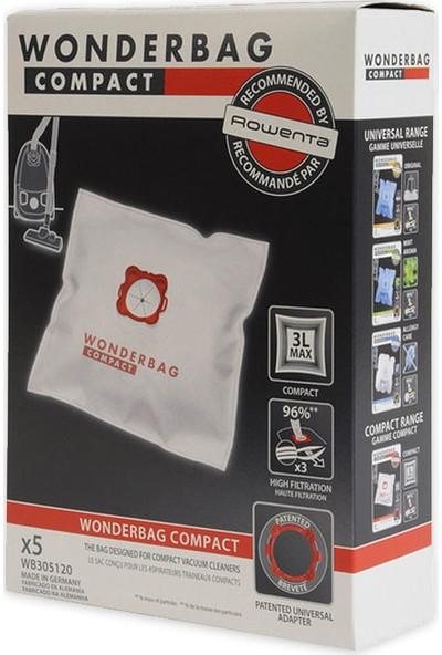 Rowenta Wonderbag Universal Compact Toz Torbası (1 Pakette 5 Adet)