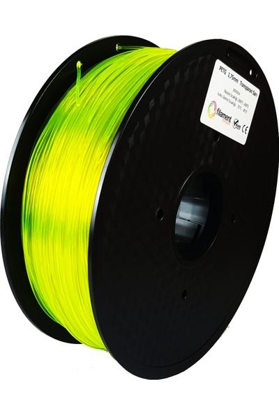 Filament Dünyası PETG Transparan Sarı 3D Yazıcı Filamenti 1.75 mm - 1 kg
