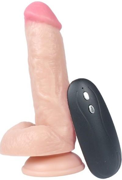 Baile Adonis 10 Titreşimli Realistik Vibratör Gerçekçi Kalın Penis 17 cm