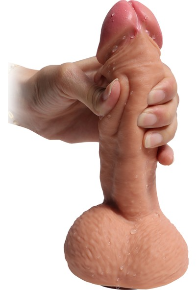 Baile Castiel's 20 cm Full Realistik Gerçekçi Penis Kalın Vibratör Dildo