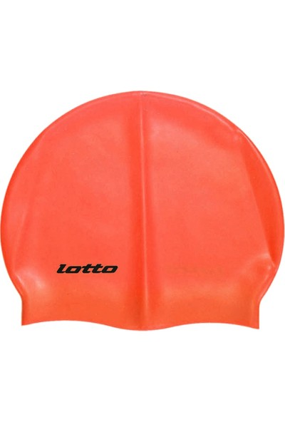 Lotto M6888 Swim Cap Silikon Bone Kırmızı