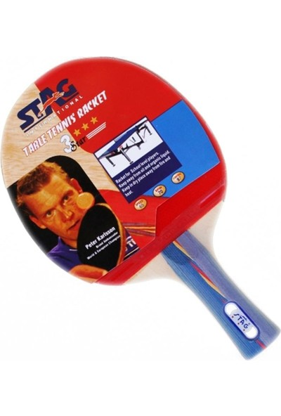Stag 3 Yıldız Masa Tenisi Raketi