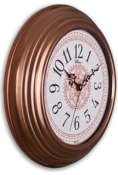 Regal 0080 C2 Bakır Renk Metal Duvar Saati