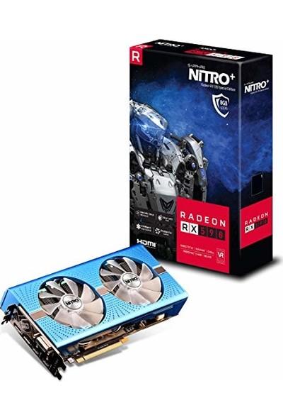 Sapphire Radeon RX 590 8 GB GDDR5 NITRO Ekran Kartı (11289-01-20G )