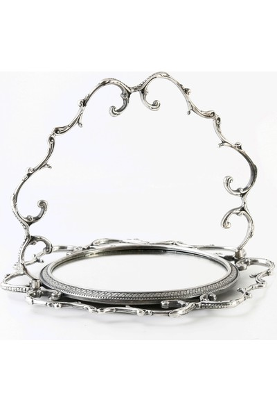 Stillars Gümüş Aynalı Tepsi
