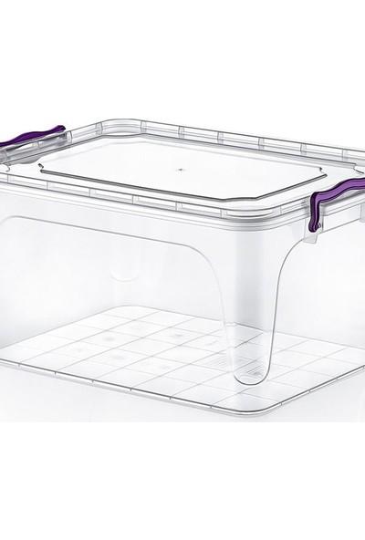 Hobby Life Plastik 25 Lt Diktörtgen Multi Box Saklama Kabı 21105
