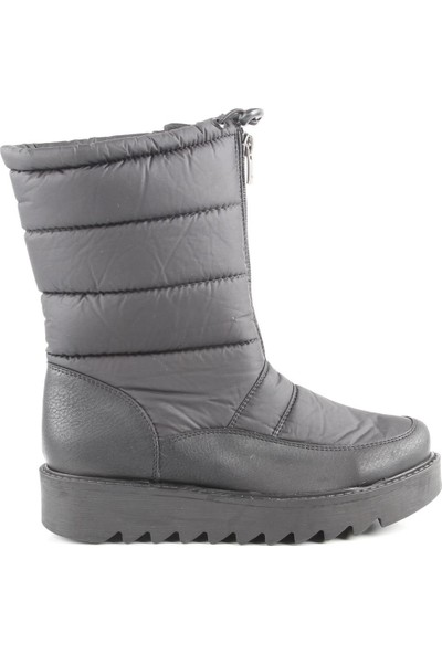 Veyis Usta Kadın Kar Botu M17100-Siyah