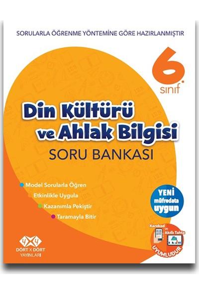 4X4 6. Sınıf Din Kültürü Ve Ahlak Bilgisi Soru Bankası