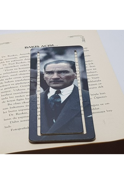 İstisna Mustafa Kemal Atatürk Kitap Ayracı Model 2