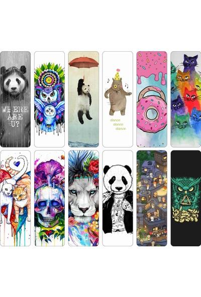 İstisna Düz Kesim Kapşonlu Panda Kitap Ayracı