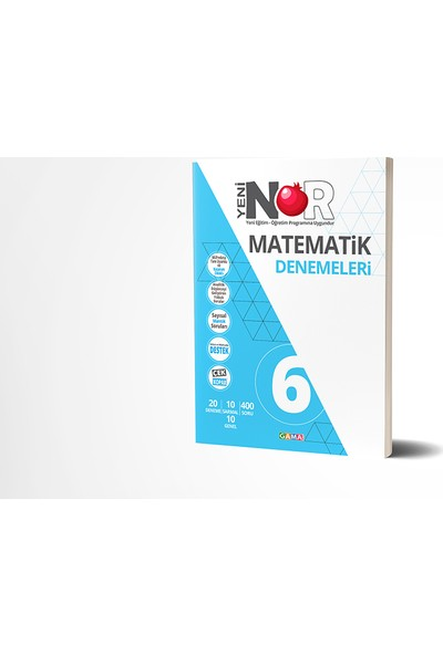 Nar 6. Sınıf Matematik 20'Li Deneme