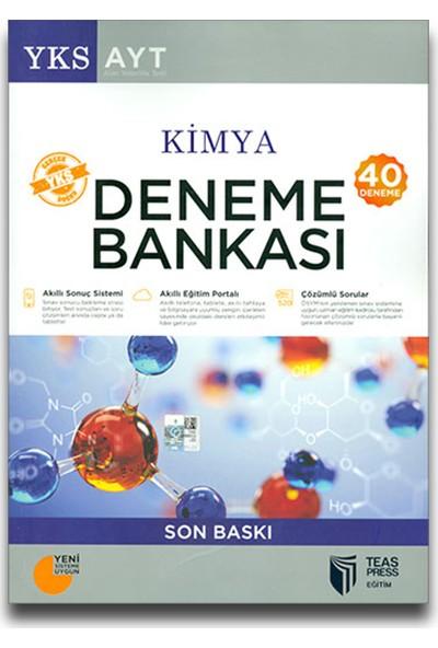 Teas Ayt Kimya 40'Lı Deneme Bankası