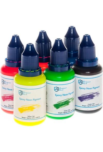 Armor Art Epoksi Pigment - 6'Lı Neon Set