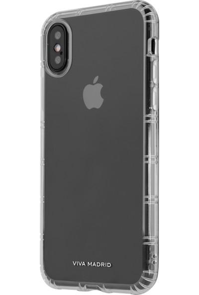 Viva Madrid Apple iPhone X Kılıf Duro Slim - Şeffaf