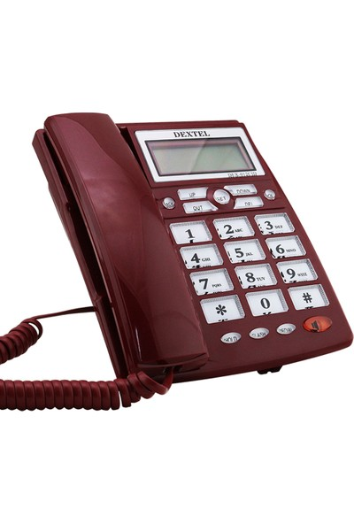 MASA TELEFONU DİJİTAL DEXTEL