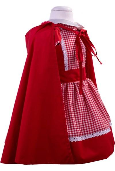 Pan Kostüm & Tasarım Kırmızı Başlıklı Kız Çocuk Kostümü