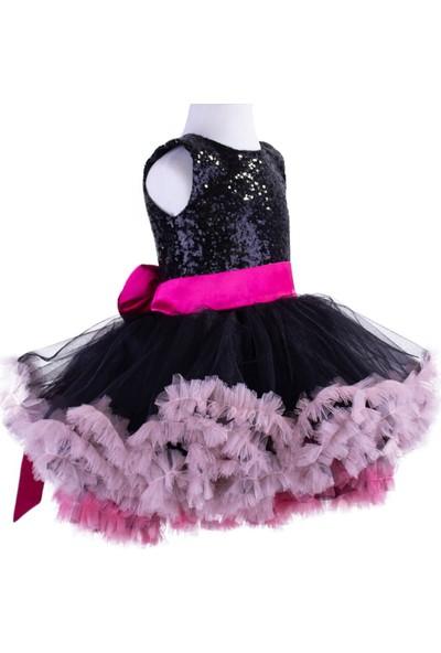 Pan Kostüm & Tasarım Siyah Payetli Ördek Kostüm