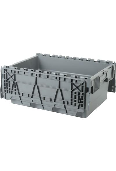 Sembol Plastik Spkm- 250 Kapaklı Konik Menteşeli Kasa