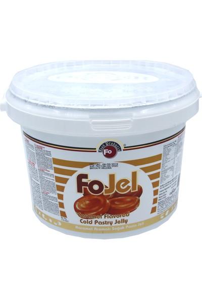 Fo Karamel Aromalı Soğuk Pasta Jeli (5 kg)