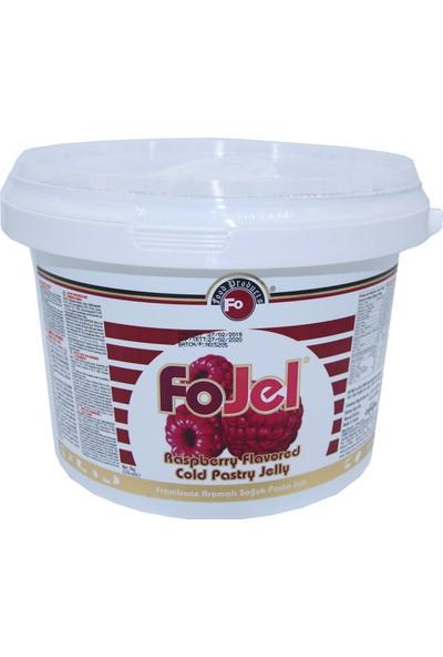 Fo Frambuaz Aromalı Soğuk Pasta Jeli (5 kg)