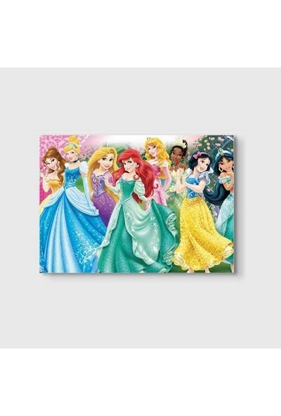 Germenicia Art Disney Prensesleri Kanvas Tablo