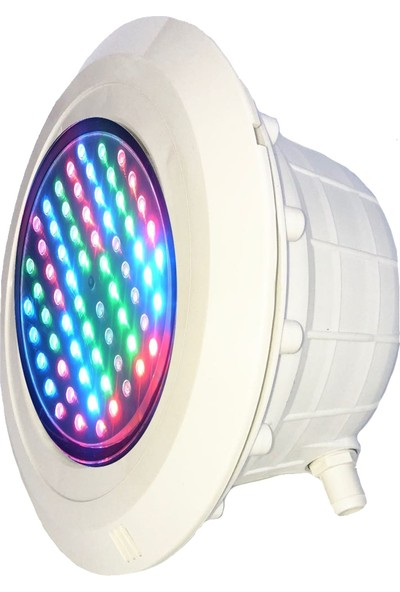 Gemaş Sıva Altı Led Havuz Lambası Komple S 95 2 Kablolu Rgb Işık