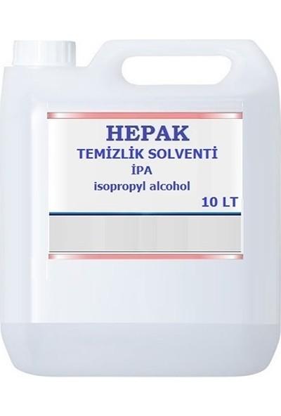 Hepak İzopropil Alkol Ipa Temizlik Solventi 10 Lt