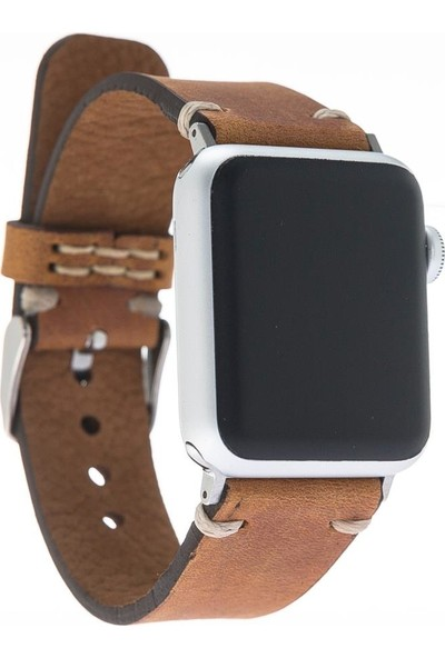 Bouletta Apple Watch Deri Kordon/Kayış Saraç Dikişli - RO2 Welder
