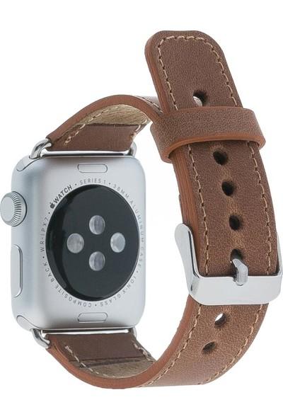 Bouletta Apple Watch Deri Saat Kordonu 42 mm - Cz02 Kahve