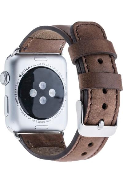 Bouletta Apple Watch Deri Saat Kordonu 42 mm - Cz06 Kahve