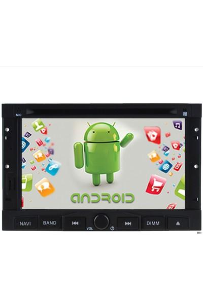 Navimate Berlingo-Partner Android Navigasyon Multimedya Tv Oem