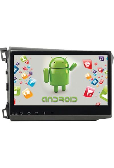 Navimate Honda Civic Android Navigasyon Multimedya Tv Usb Oem