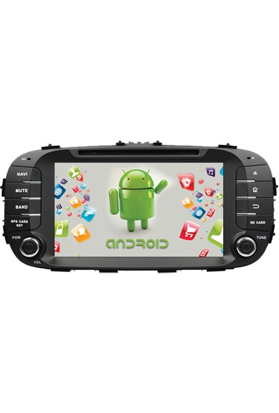 Navimate Kia Soul Android Navigasyon Multimedya Tv Oem