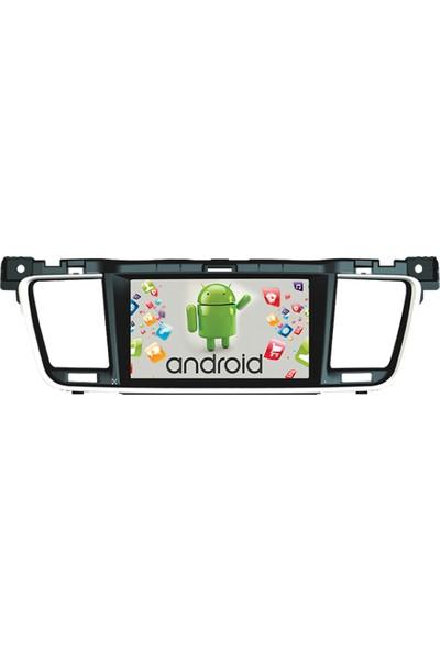 Navimate Peugout 508 Android Navigasyon Multimedya Tv Oem