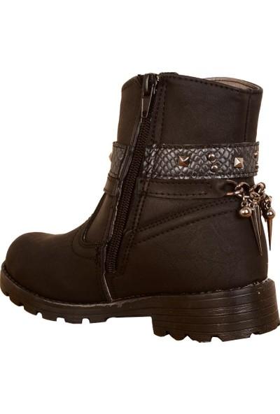 Elifsu 1870 Termal Fermuarlı Kışlık Kız Çocuk Bot Ayakkabı