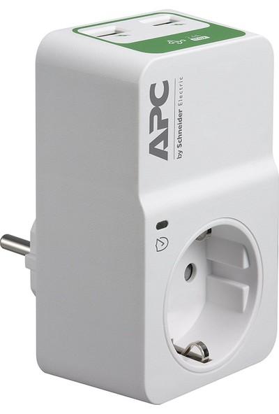 Apc Pm1Wu2 Essential Surgearrest Çıkış 230V 2 Port Usb Şarj Cihazı