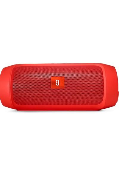 Btech Charge 2+ Ses Bombası Su Geçirmez Bluetooth Hoparlör Kırmızı