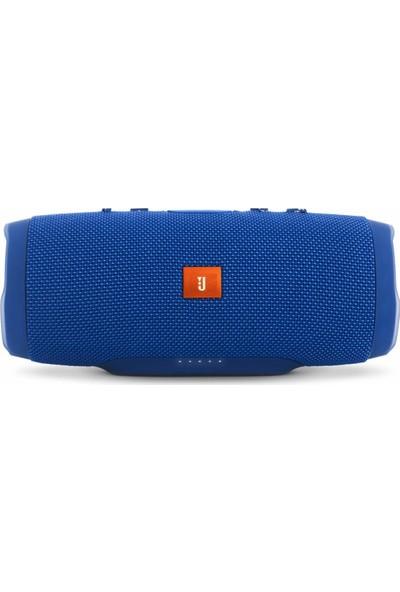 Btech Charge 3+ Bluetooth Taşınabilir Kablosuz Hoparlör Mavi