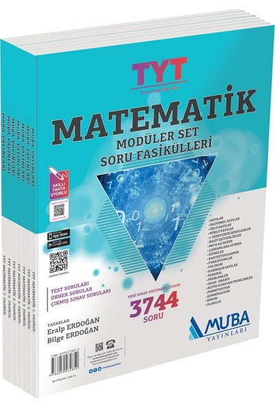 Muba Yayınları Tyt Matematik Modüler Set Soru Fasikülleri
