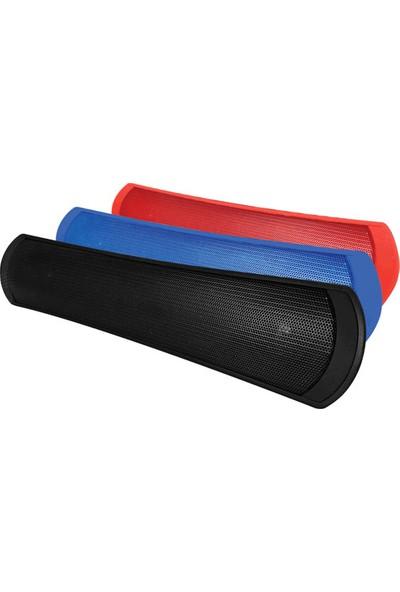 Piranha 7815 Kablosuz Bluetooth Hoparlör Kırmızı