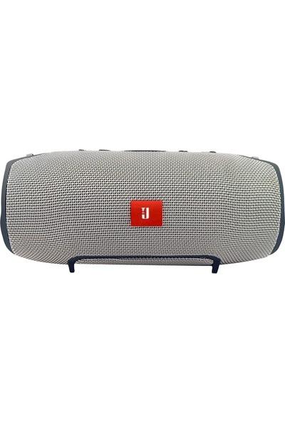 Btech Xtreme Ses Bombası Su Geçirmez Bluetooth Hoparlör Gri