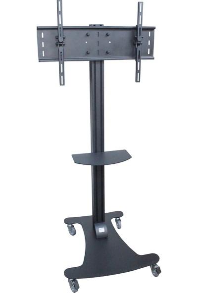 """Plusaparat St-8080M 32""""-48"""" Lcd Led Plazma Tv Tekerlekli Mobil Standı"""