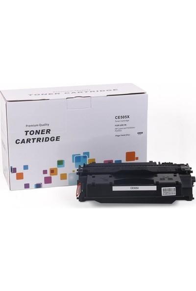 HP CE505X Muadil Toner P2055 Canon LBP6300-6650-MF5850-5880-CRG719H-IR 1133