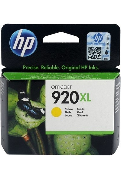 HP CD974AE (NR920XL) Sarı Kartuş (6000-6500-7000N-7500)