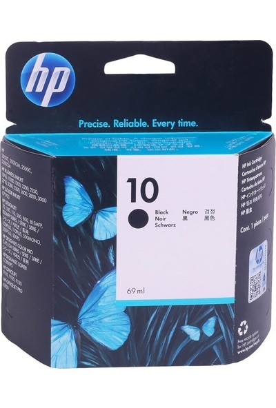 HP C4844A (Nr10) SİYAH (CP1700-K850-2500C-9110)