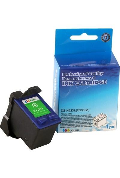 HP C9352C (NR22XL) Smart Renkli Kartuş (J3680)