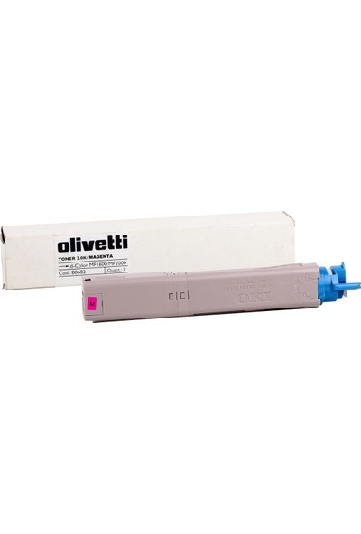 Olivetti D-Color MF 1600-2000 Kırmızı Toner /B0683 OKI C3500-C3520-Mc360