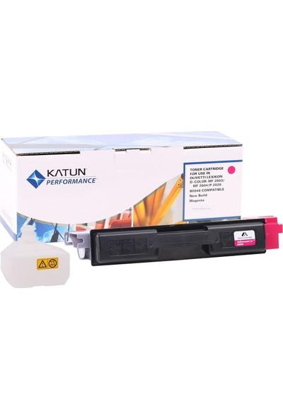 43824-Olivetti Kırmızı Toner D-Color MF 2603-2604-2613-2026 (TK-590)