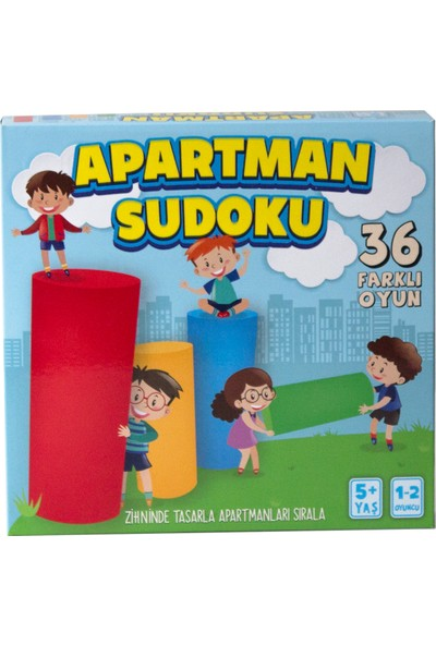 Tes Apartman Sudoku Zeka Oyunu